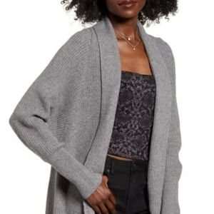 LeithDolman Sleeve Long Cardigan